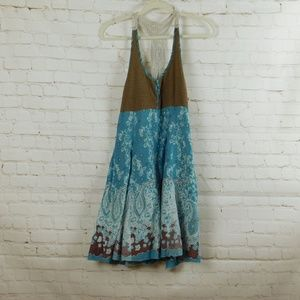 Free People Crocheted Racer Back Lined Dress